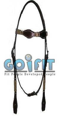KLH 1004 Knotted Leather Headstall