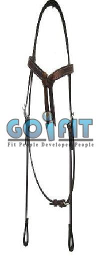 KLH 1006 Knotted Leather Headstall