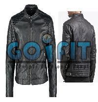 JOO2 Mens Leather Jacket